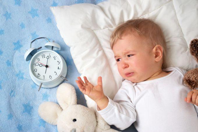 Чи шкідливо дитині плакати перед сном