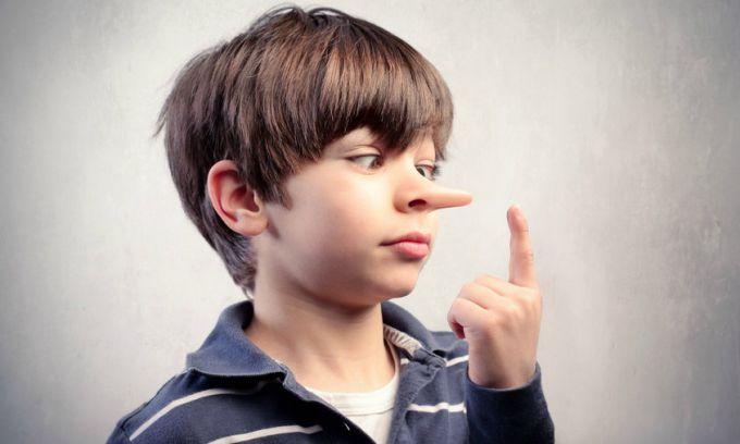 Якщо дитина обманює