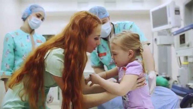 Лікувальні процедури: як заспокоїти дітей