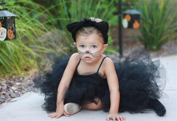 Костюми для дітей: костюм котика своїми руками