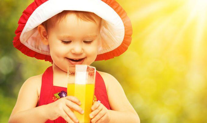 Фруктові соки викликають карієс у дітей