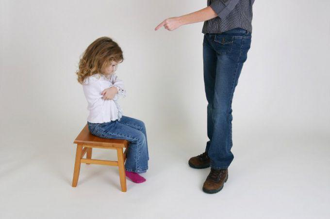 Як правильно карати дітей?