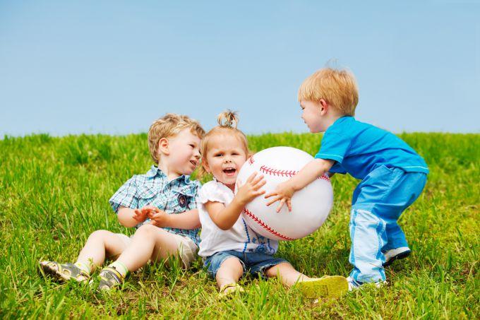 Ігри на природі для дітей