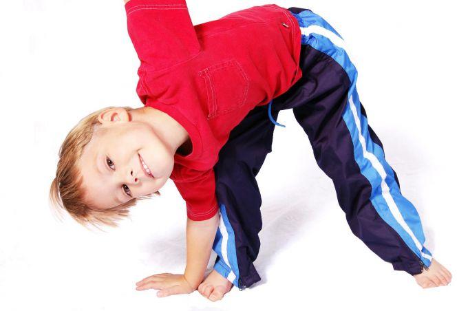 Гімнастика врятує дітей від запорів
