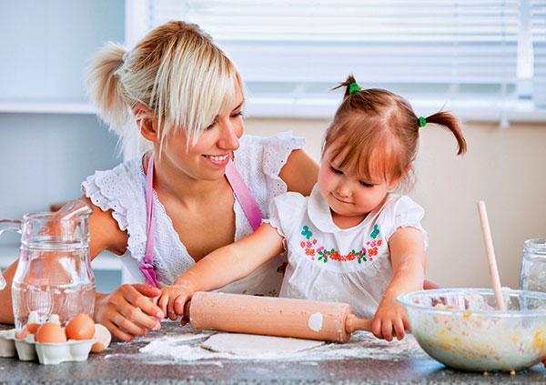 Вчимо дітей готувати