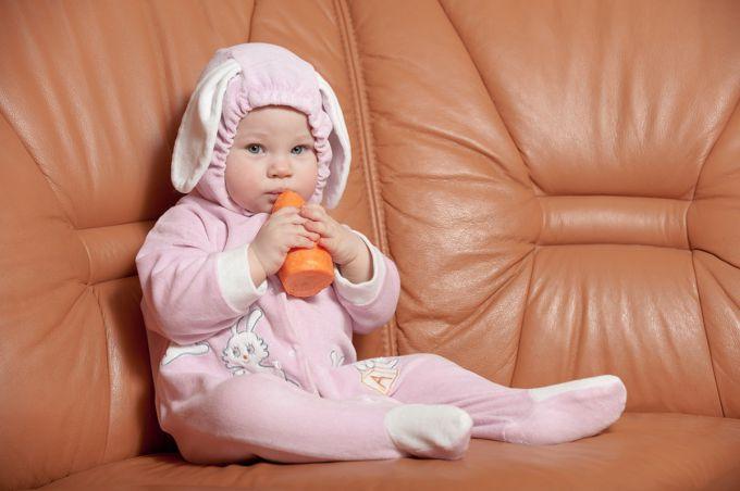 Низькорослим дітям допоможе морква