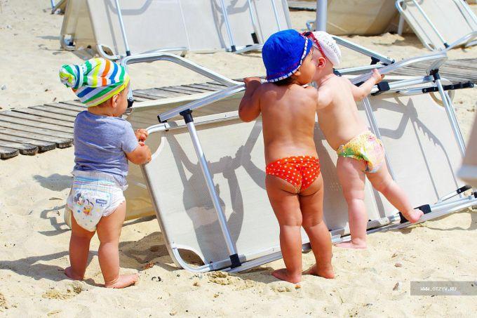 Інфекції на пляжі: як захистити дітей?
