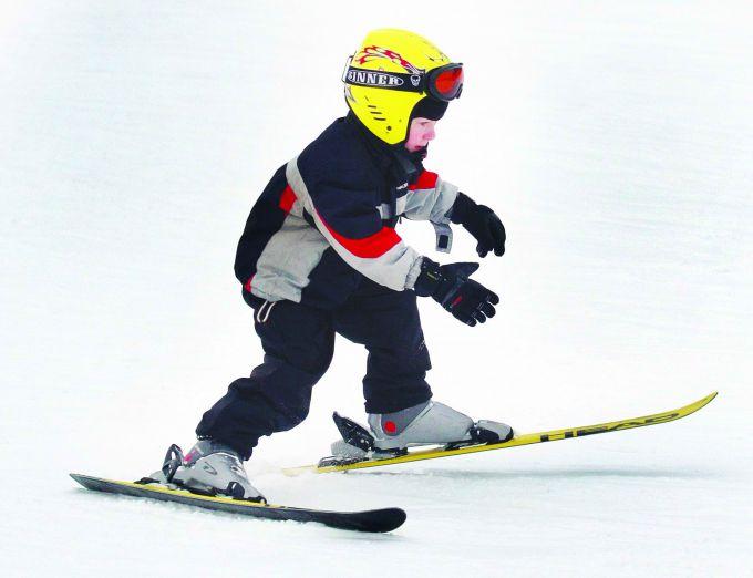 Спорт для дітей: гірськолижна школа