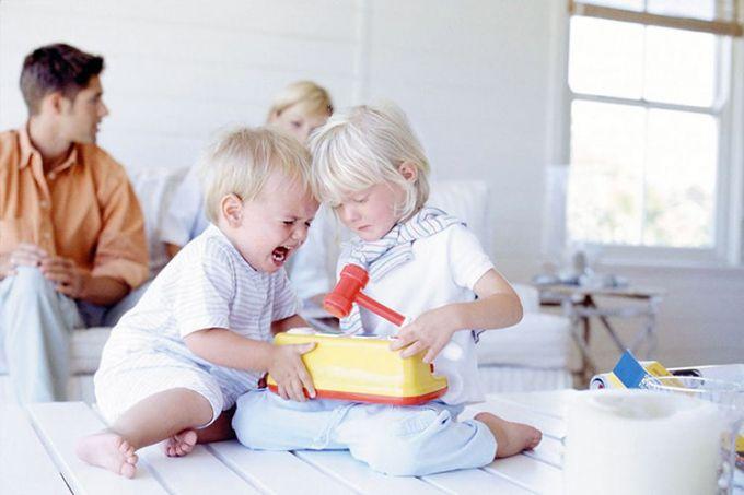 Поради батькам, які виховують дітей з малою різницею у віці