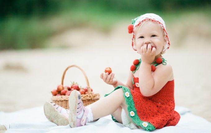 Лікуємо алергію на полуницю у дітей