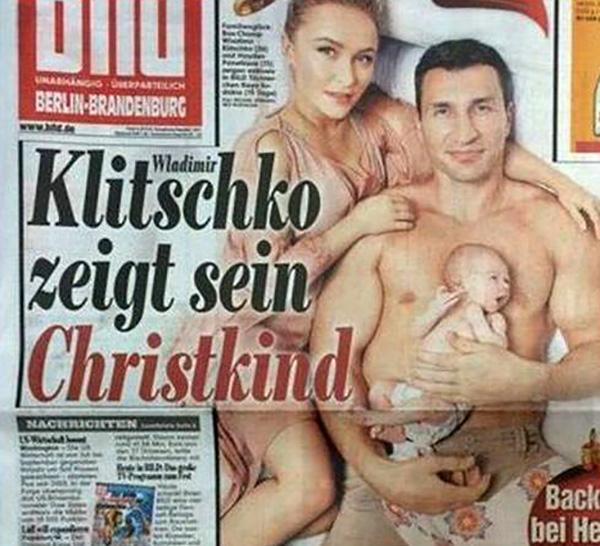 Кличко та Пенеттьєрі показали свою доньку (ФОТО)