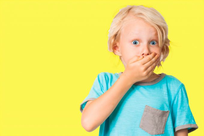 Якщо дитина вживає непристойні слова