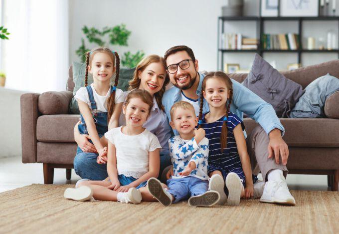 Як виховувати дітей у багатодітній сім'ї?