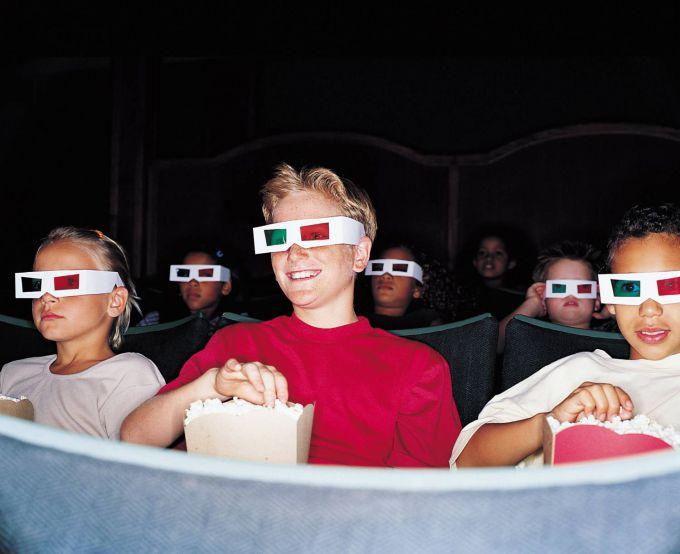 Формат 3D: чи безпечні такі фільми для дітей?