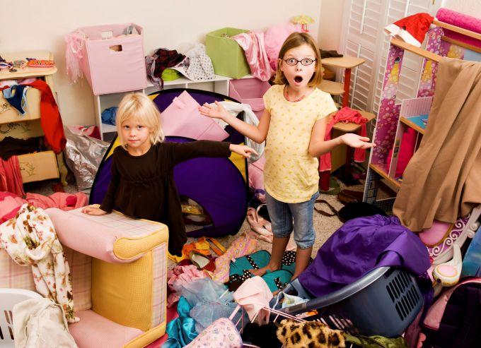 5 способів швидко навести порядок в дитячій
