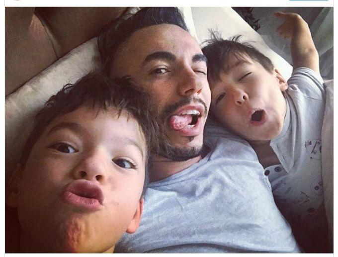 Тимур Родрігес показав дітей-красунчиків (фото)