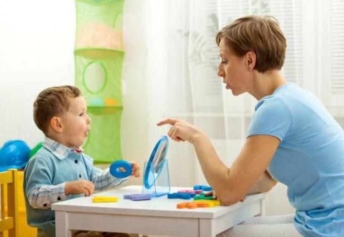 Якщо дитина погано вимовляє слова