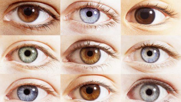 Колір очей розкаже про храктер і вашу долю