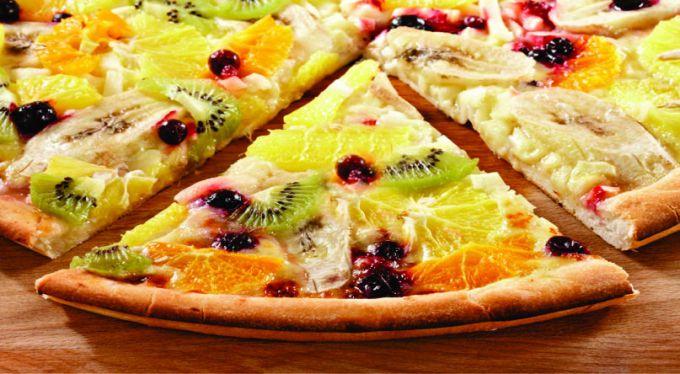 Фруктова піца для дітей:рецепт
