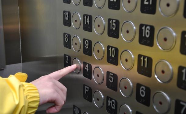 Якщо дитина боїться їздити в ліфті