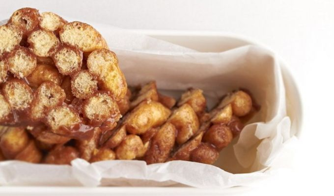 Побалуйте дітей десертом з кукурудзяних паличок