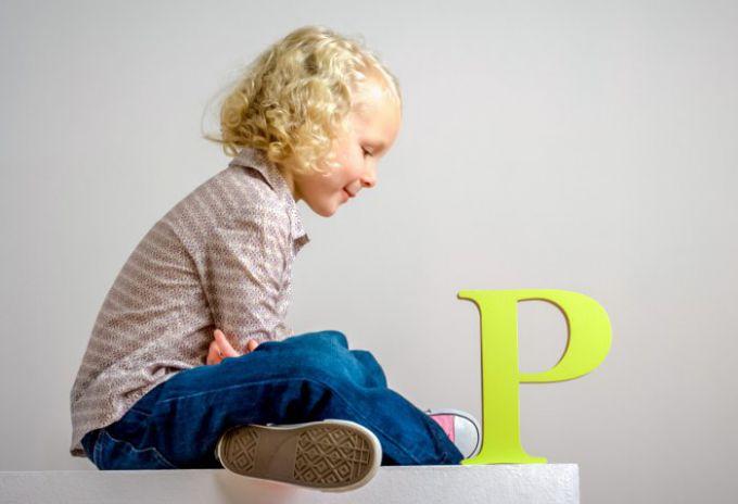 Як навчити дітей вимовляти літеру