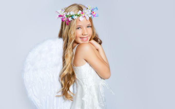 Як швидко зробити костюм ангела або купідона для дітей