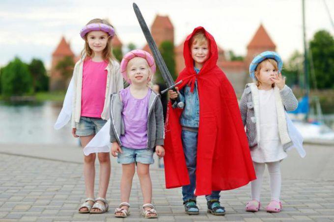 Сценарій дитячого свята: посвячення в лицарі