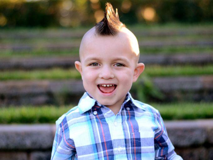 Зачіски для хлопчиків: 2 варіанти