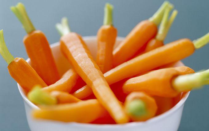 Морква: все про овоч як перший прикорм