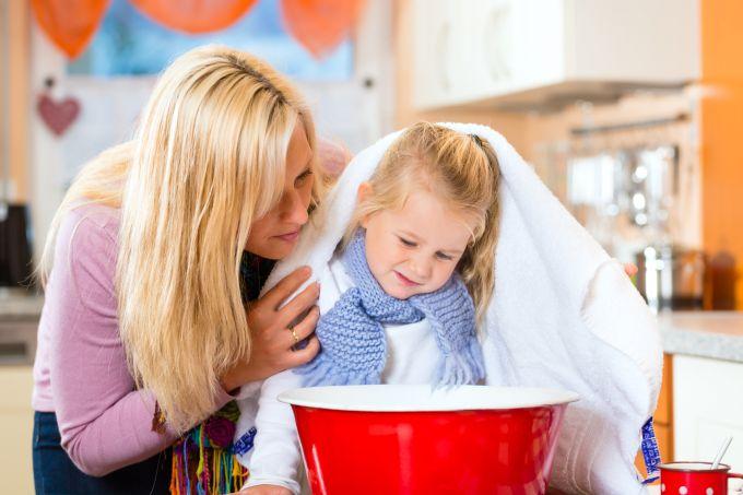 Народні засоби від застуди для дітей