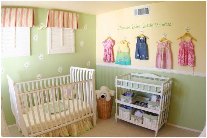 Красивий інтер'єр кімнат для новонароджених (ФОТО)