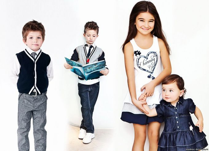 Як модно одягнути дітей